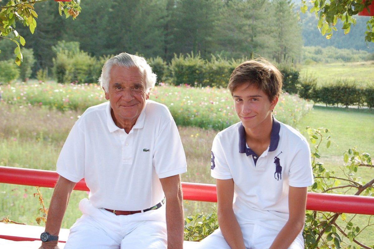 Patrick Sermadiras et son fils Gilles