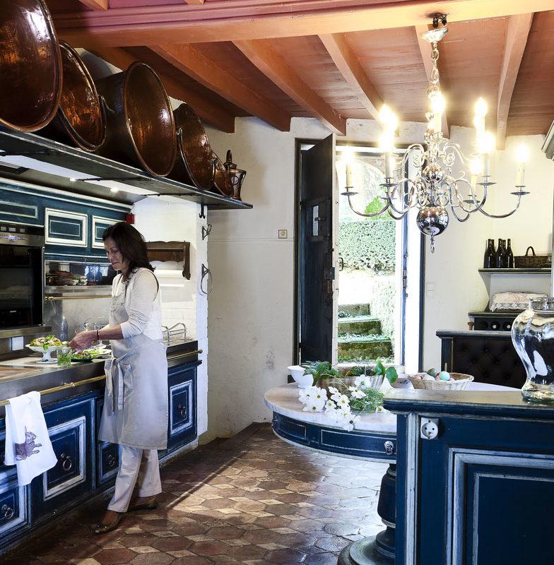 Atelier de cuisine au Manoir