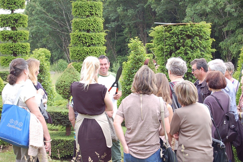 Visiter Eyrignac avec Jardinier