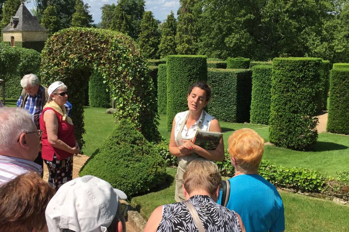 Visite guidée des Jardins d'Eyrignac