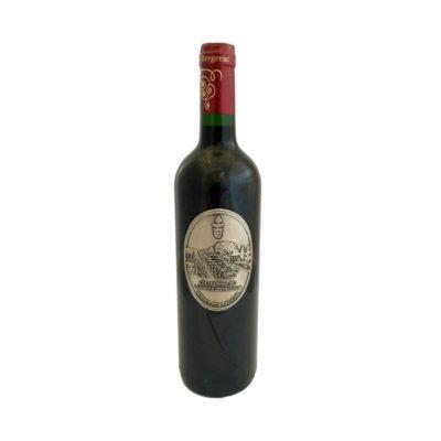 Vin de Bergerac avec étiquette personnalisée