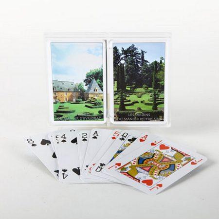Jeu de cartes double