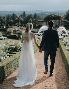 Mariage Elodie et Alexandre à Eyrignac
