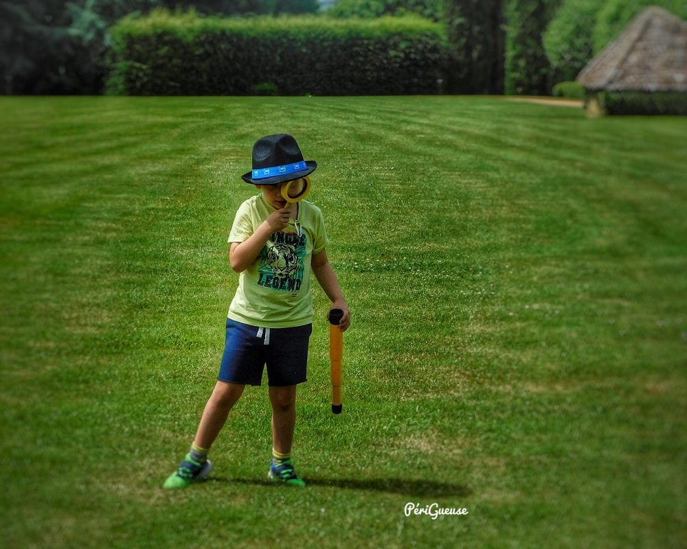 Quiz aventure dans les jardins avec Milo ©Mélodie Carton (Périgueuse)