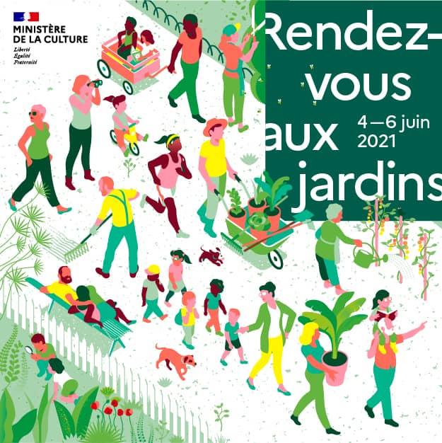 Visuel Rendez-vous aux Jardins 2021